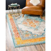 Unique Loom Da Vinci Arte Area Rug - 8' 0 x 10' 0