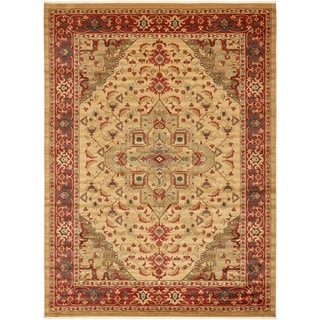 Unique Loom Arsaces Sahand Area Rug (Red - 122 x 16)