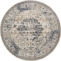 Unique Loom Hoover Chateau Round Rug - 8' X 8' Round