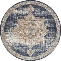 Unique Loom Roosevelt Chateau Round Rug - 8' x 8'