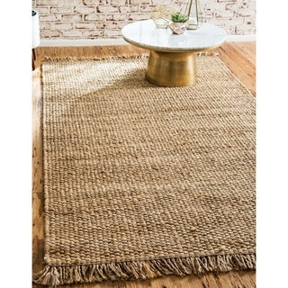 Unique Loom Chunky Jute Area Rug