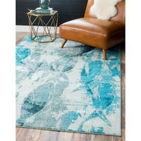 Unique Loom Marooned Positano Area Rug - 9' x 12'