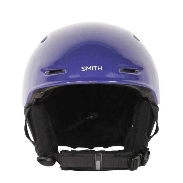 Smith Optics Zoom JR Ultraviolet Brush Dots Ski/Snowboard Helmet (Youth)