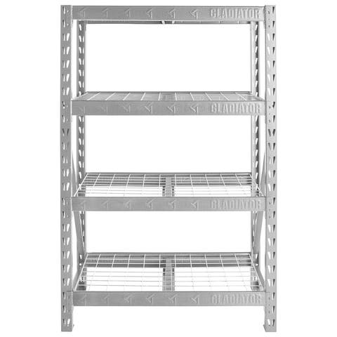 "Gladiator GarageWorks 48"" Wide Heavy Duty Rack with Four 18"" Deep Shelves"