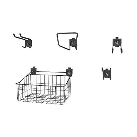 "Gladiator GarageWorks 18"" Wide Wire Basket - Single"