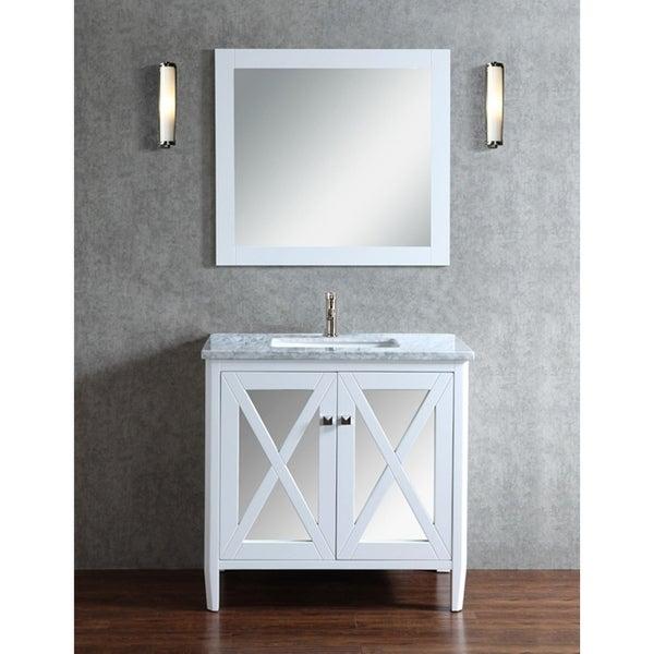 "Reflection 24"" Single Sink Bathroom Vanity Set"