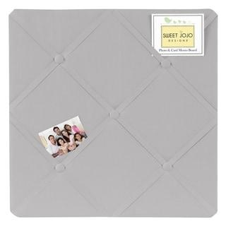 Sweet Jojo Designs Grey Memo Board