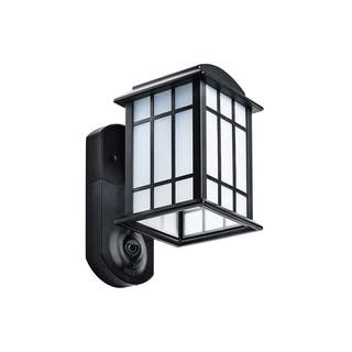 Maximus Smart Home Security Outdoor Light & Camera - Craftsman Black https://ak1.ostkcdn.com/images/products/18083888/P24243748.jpg?impolicy=medium