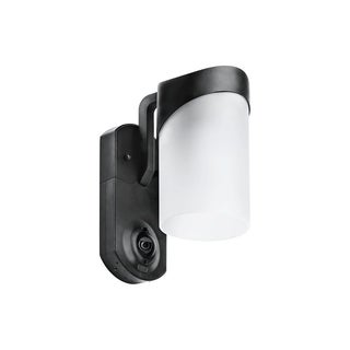 Maximus Smart Home Security Outdoor Light & Camera- Contemporary Black