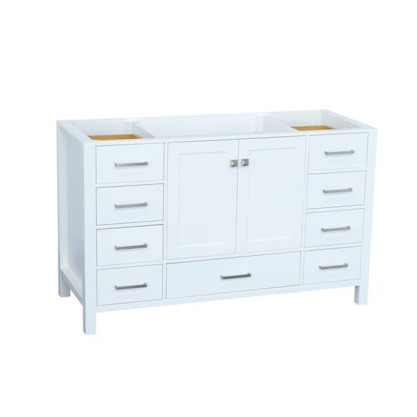 Shop Ariel Cambridge 54 In Single Sink Base Cabinet In