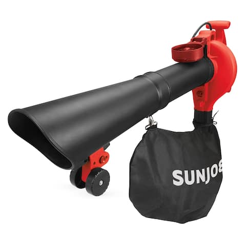 Sun Joe SBJ606E-GA-RED 4 in 1 Electric Blower