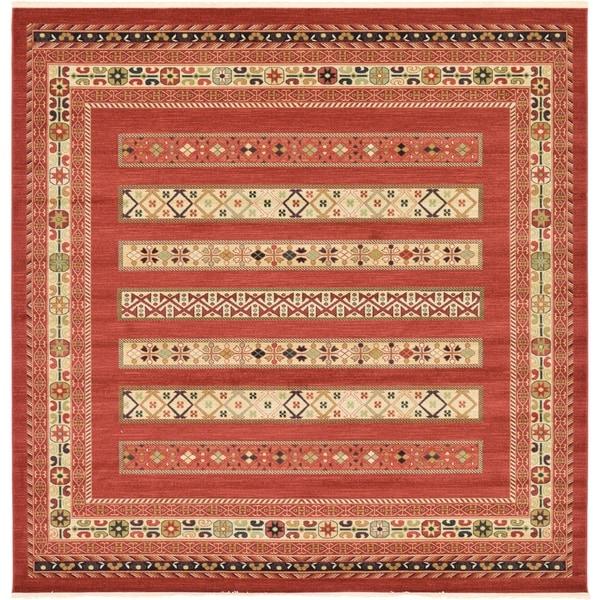 Unique Loom Pasadena Fars Square Rug - 10' x 10'
