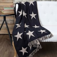 Star Woven Throw