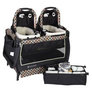Baby Trend Twins Nursery Center.Circle Tech|https://ak1.ostkcdn.com/images/products/18084318/P24244668.jpg?impolicy=medium