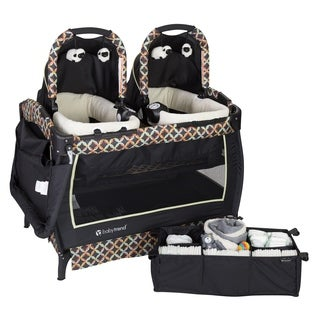 Baby Trend Twins Nursery Center.Circle Tech