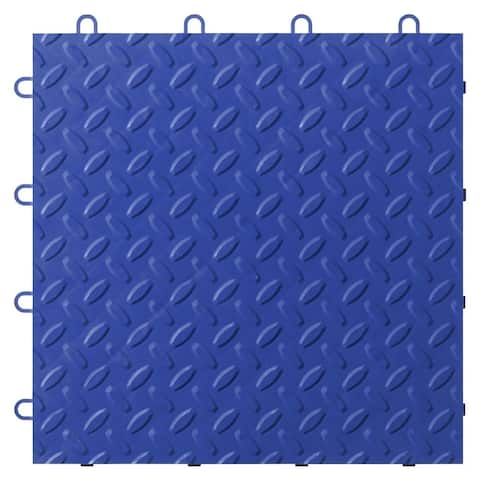 "Gladiator GarageWorks 12"" x 12"" Tile Flooring (24-Pack) - 24 SQ FT, .5"" THICK"
