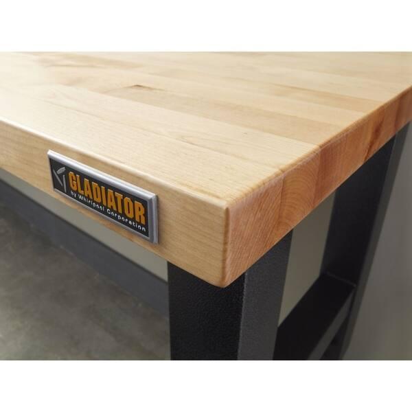 Wondrous Shop Gladiator Garageworks 6 Adjustable Height Hardwood Uwap Interior Chair Design Uwaporg