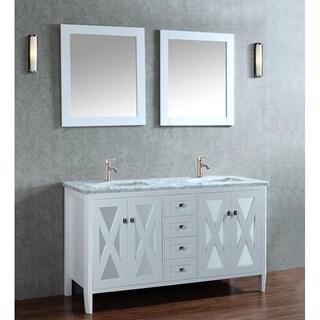 "Reflection 60"" Single Sink Bathroom Vanity Set"