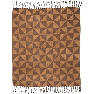 Kendrick Chenille Jacquard Woven Throw