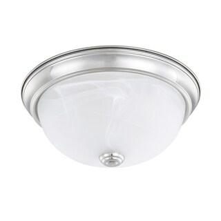 Capital Lighting Ceiling Collection 2-light Chrome Flush Mount