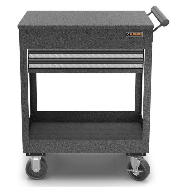 Shop Gladiator Garageworks 2 Drawer Utility Cart Free