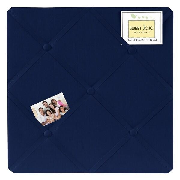 Sweet Jojo Designs Navy Blue Memo Board