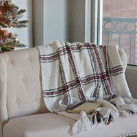 Amory Acrylic Woven Throw