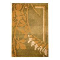 Handmade Herat Oriental Indo Hand-knotted Tibetan Wool Accent Rug - 1'5 x 2'1