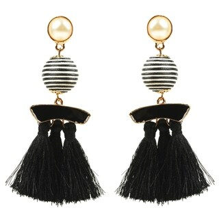 Eye Candy LA Parisian Chic Statement Earring