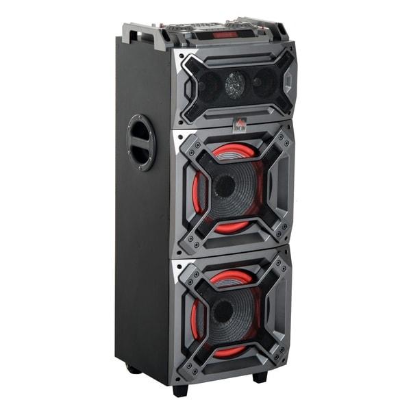 Shop HomCom 100 Watt Portable Bluetooth Speaker System