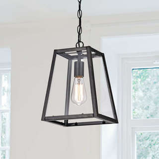 Antique ceiling lights for less overstock ashley antique black 1 light small pendant aloadofball Gallery