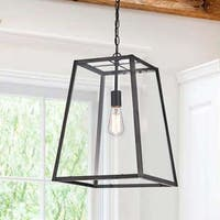 Ashley Antique Black Single-light Large Pendant