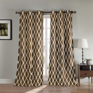 "Heavy Blackout Kittattinny 112L"" Blackout Grommet Curtain Panel Pair"