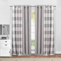 """Duck River Colin 4-Piece Blackout Curtain Panel Pair - 37x84"""" 4pcs"""
