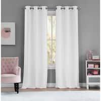 """Lala Bash Ashlee Sheer Curtain Panel Pair - 36x84"""""""