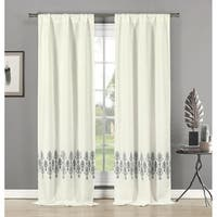 """Duck River Avelina Hang Two Ways Curtain Panel Pair - 76x84"""""""