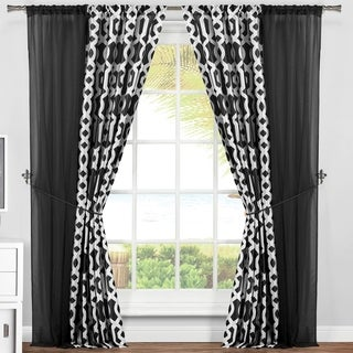 Duck River Ashleigh 6Pc Pole Top Curtain Panel Pair - 37x84 6pc
