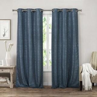 "Duck River Dekan Grommet Curtain Panel Pair - 38x84"""