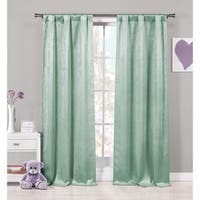 Lala Bash Quincy Solid Blackout Curtain Panel Pair