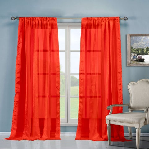 Duck River Ikiana Sheer Curtain Panel Pair - 40x84