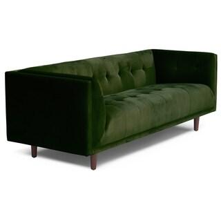 Aeon Furniture Cecily Velvet/Wood Sofa