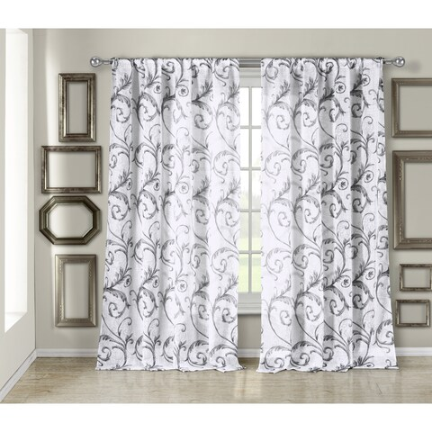 Duck River Bria Linen Look Curtain Panel Pair