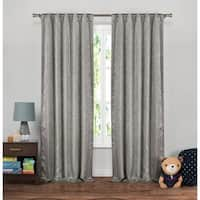 Lala Bash Maddie Sparkles Blackout Curtain Panel Pair - 37x84""