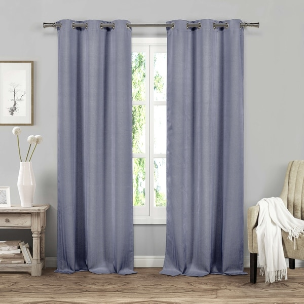 Duck River Harriete Blackout Grommet Curtain Panel Pair - 38x84