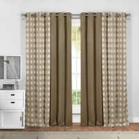 Duck River Kaelee 4-Piece Window Grommet Top Curtain Panel Pair - 37x84