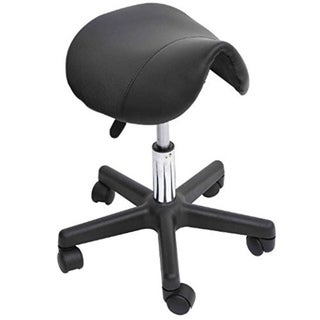 Carbon Loft Wilbur Adjustable Saddle Salon Massage Stool
