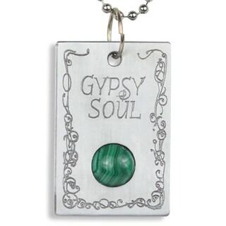 Handmade - Healing Stones for You Malachite 'Gypsy Soul' Pendant (USA)