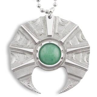 Handmade - Healing Stones for You Aventurine Prometheus Pendant (USA)