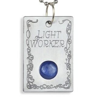 Handmade - Healing Stones for You Kyanite 'Light Worker' Pendant (USA)