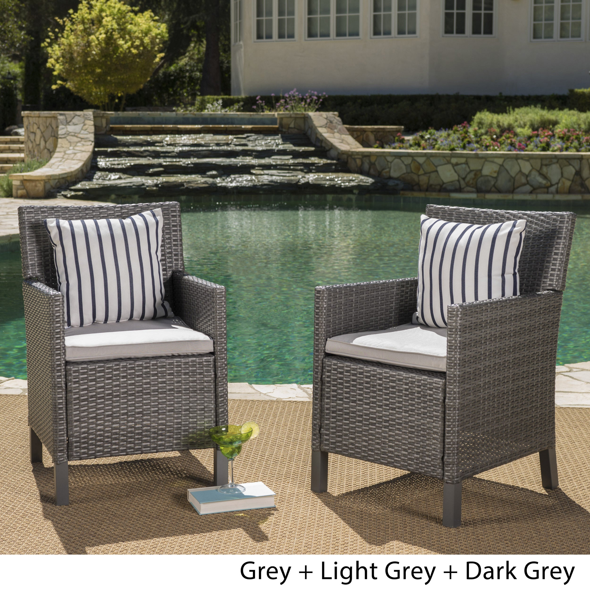 Grey Wicker Patio Furniture Find Great